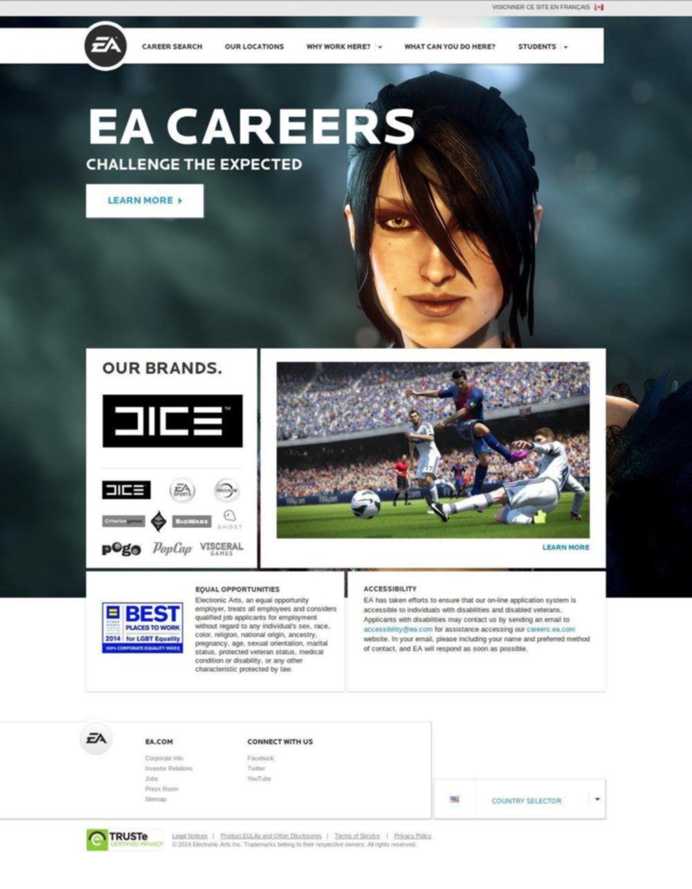 EA Careers Canada