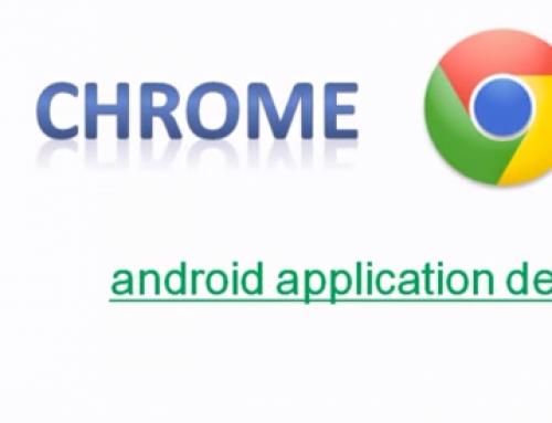 Android application debugging utilizing Google Chrome
